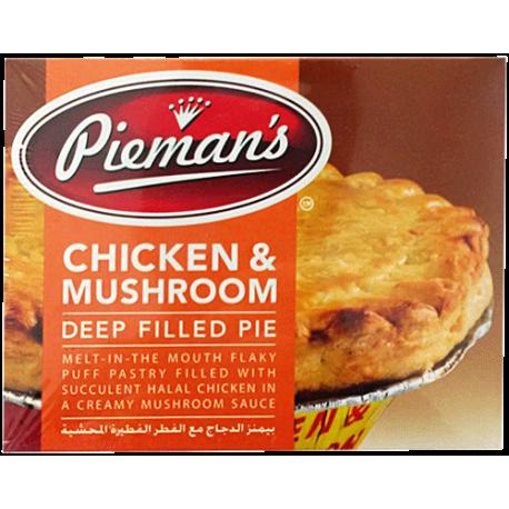 Pieman's Chicken & Mushroom Deep Filled Pie 185g