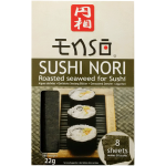 Enso Sushi Nori Roasted Seaweed for Sushi 8 Sheets
