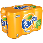 Fanta Orange 6x355ml Pack