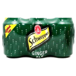 Schweppes Ginger Ale 6x330ml Pack
